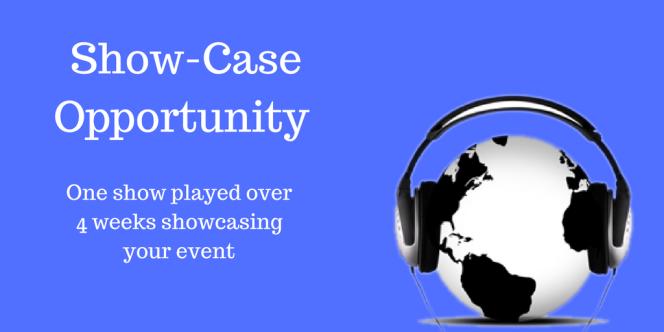 show case banner