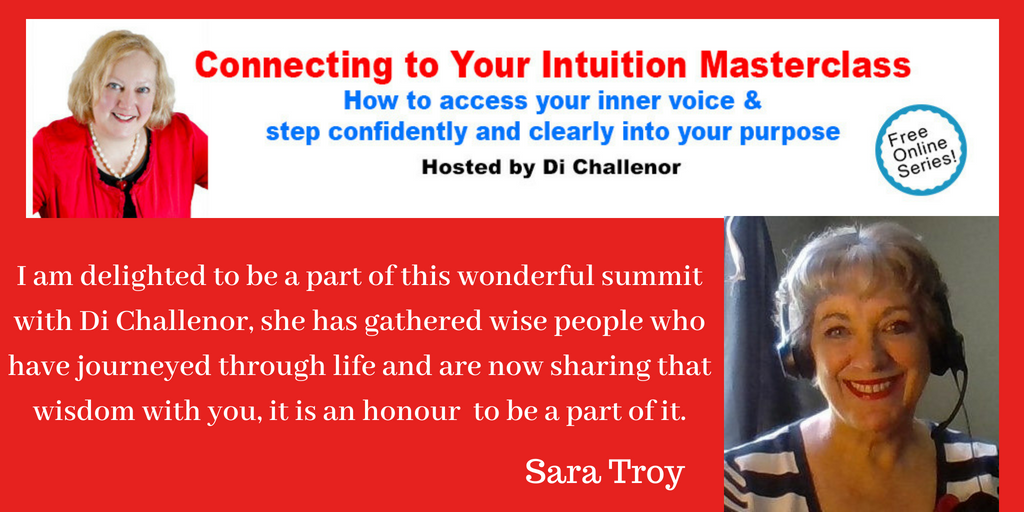 I am delighted to be a part of this wonderful summit with Di Challenor, she has gathered wisdom from others who have journeyed through life and are now sharing with you, it is an honour