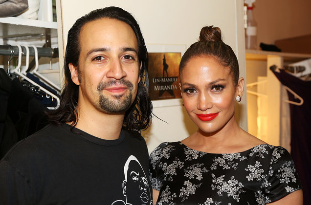Lin-Manuel-Miranda-and-Jennifer-Lopez-backstage-hamilton-billboard-1548